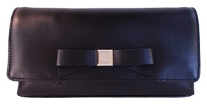 Kate Spade Black with Gold Clutch
