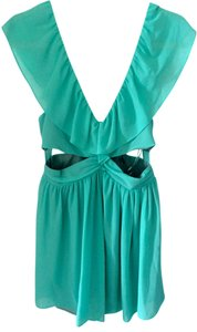 Keepsake the Label Ruffle Cut-out Dress