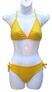2 Piece Yellow Bathing Suit