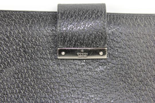 Gucci Passport Checkbook Leather Document Holder GGTL91