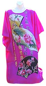 Meiyesida short dress Floral Fuschia Kimono Style With Tag on Tradesy