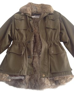 Yves Salomon Military Jacket