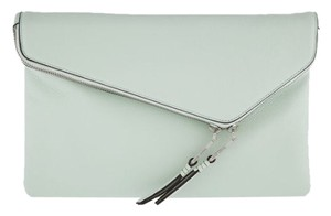 Henri Bendel Debutante Pale Green Clutch