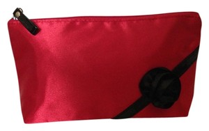 Satchel in Red with black lining and trim