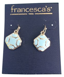Francesca's Faceted Dangle Earings