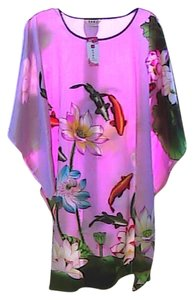 Meisyesida short dress Pink Floral & Fish Brand New W/ Tag Kimono on Tradesy