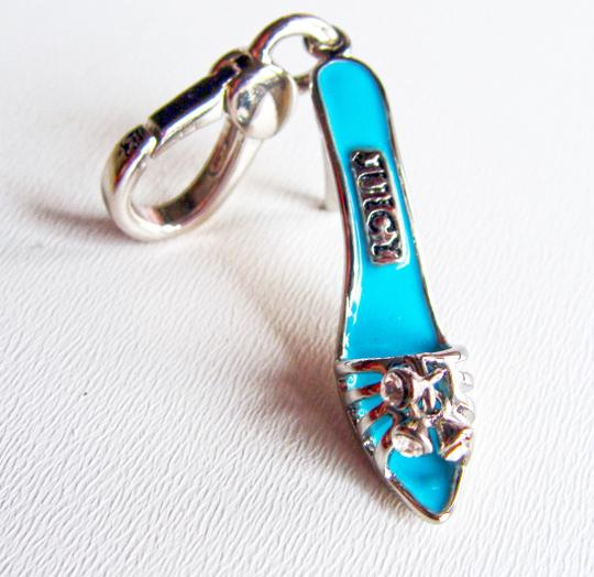 Juicy Couture New Juicy Couture Blue Sandal High Heel Charm