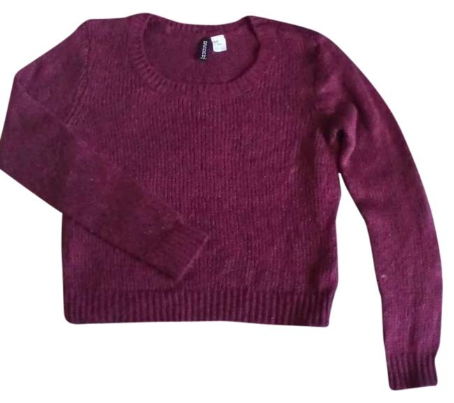 Preload https://item4.tradesy.com/images/divided-by-h-and-m-redheather-crop-sweaterpullover-size-2-xs-310083-0-0.jpg?width=400&height=650