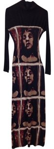 Jean-Paul Gaultier Full Length Faces Bella Fabulous Rich Italy Dress
