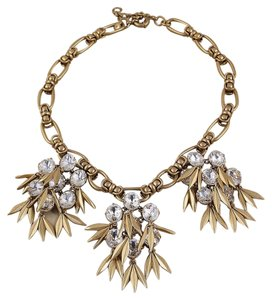 J.Crew New J. Crew Brass Statement Necklace - Stunning!