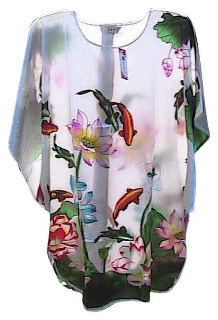 Preload https://item3.tradesy.com/images/white-floral-summer-kimono-mid-length-short-casual-dress-size-os-one-size-3101107-0-0.jpg?width=400&height=650