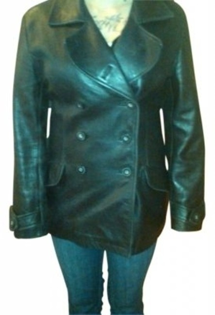 Preload https://item5.tradesy.com/images/kenneth-cole-black-coat-leather-jacket-size-10-m-31014-0-0.jpg?width=400&height=650