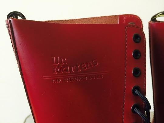 Dr. Martens Burgundy / Cherry Red Boots