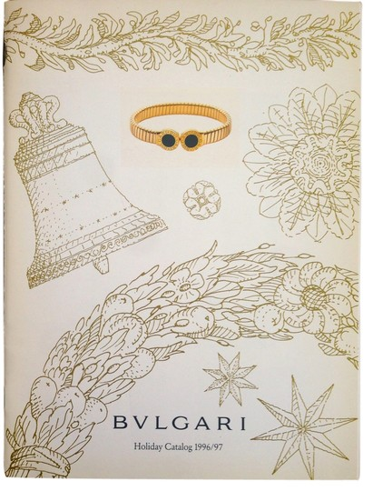 BVLGARI Bulgari 1996 Holiday Catalog
