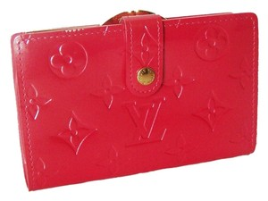 Louis Vuitton Louis Vuitton Vernis French Wallet Framboise Pink Patent Leather Viennoise