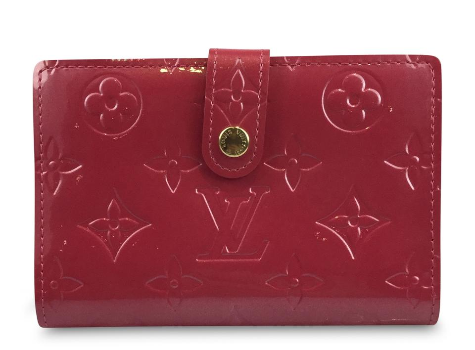 Louis Vuitton Pink Framboise French Purse Wallet Tradesy