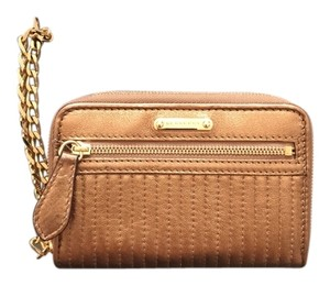 Burberry Wristlet in Gold