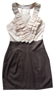 5th Culture short dress Brown on Tradesy