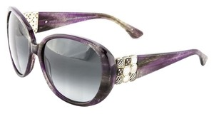 David Yurman David Yurman Sunglasses Chicklet Albion DY063 Sterling Silver David Yurman Jewelry Diamond and Crystal Jackie O Sunglasses Oversized