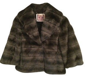 Juicy Couture Faux Fur Fur Coat