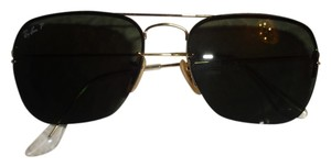 Ray-Ban Ray-Ban Unisex 'RB3461 Flip Out Caravan' Polarized Interchangeable Aviator Sunglasses