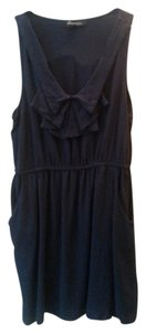 Forever 21 short dress Navy blue Nautical Mini Party Collar on Tradesy