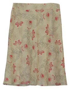 Ann Taylor LOFT Skirt Multi-Color, Coral Pink