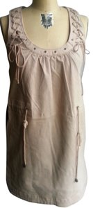 French Connection short dress beige, light brown Jean Mini on Tradesy