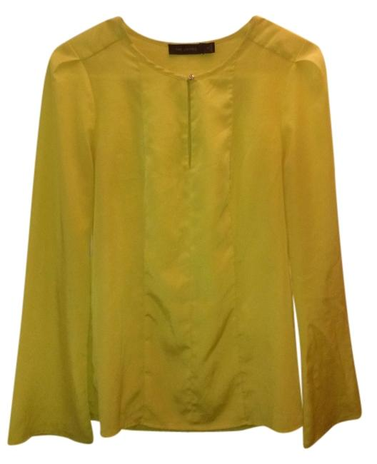 The Limited Longsleeve Flowy Formal Top Lime green