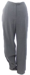 Other Straight Pants Grey Rayon