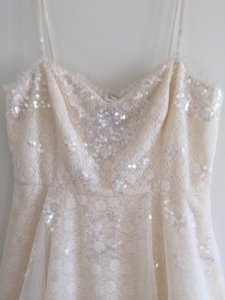 Free People Off White Wedding Dress Size 10 (M)