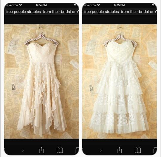 Free People Off White Dress Size 10 (M)