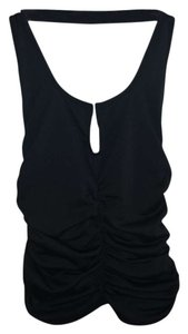 XOXO Night Out Black Halter Top