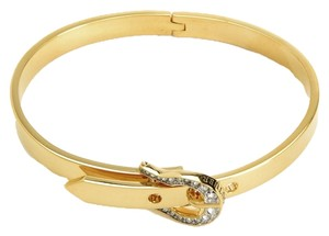 Juicy Couture Pave Buckle Skinny Bangle Bracelet