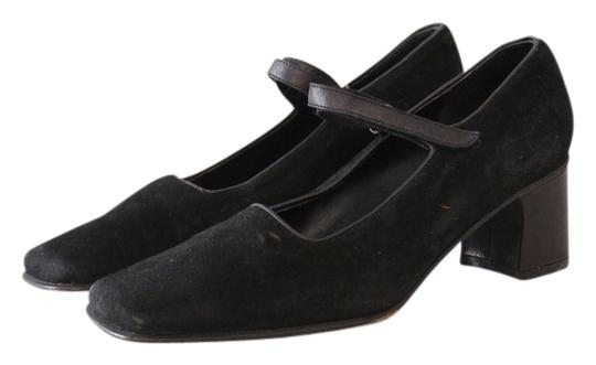 Preload https://item1.tradesy.com/images/banana-republic-mary-jane-square-toe-suede-black-pumps-3104245-0-0.jpg?width=440&height=440