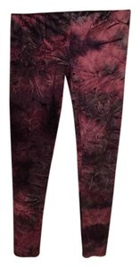 Topshop Multi Color Pink Purple Leggings