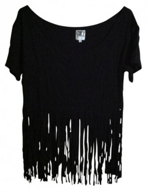 Preload https://item4.tradesy.com/images/nasty-gal-black-fringed-crop-tee-shirt-size-4-s-31048-0-0.jpg?width=400&height=650