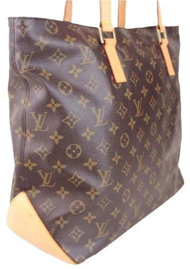 4c9f2f86fc7 Louis Vuitton Cabas Mezzo with Dustbag Brown Tote 47% off retail