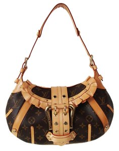 Louis Vuitton Leonor Lv Ruffles Frills Leather Shoulder Bag