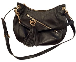 Michael Kors Leather Versatile Tassels Shoulder Bag