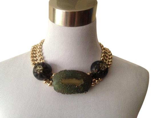 Preload https://item5.tradesy.com/images/marni-goldgreenblack-cluster-pearl-chain-necklace-3105994-0-0.jpg?width=440&height=440