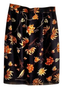 Amanda Smith Floral Lined Skirt flower design