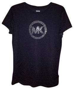 Michael by Michael Kors Sparkle T Shirt Black