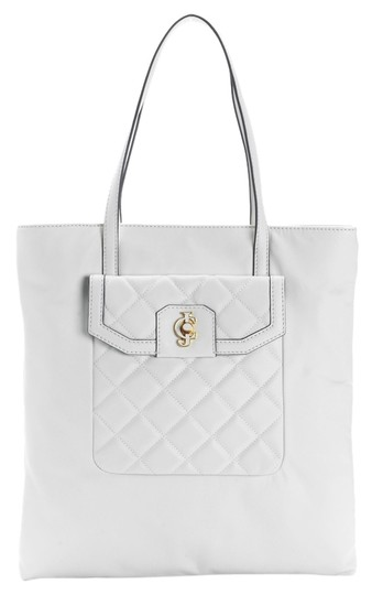 Preload https://item3.tradesy.com/images/juicy-couture-desert-oasis-quilted-white-leather-tote-3106432-0-0.jpg?width=440&height=440