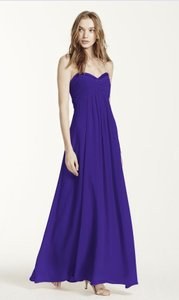 David's Bridal Regency Purple F14867 Dress