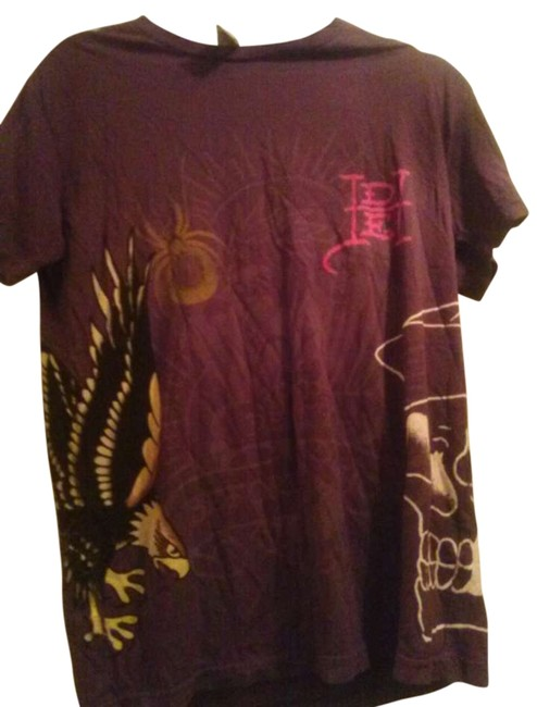 Preload https://img-static.tradesy.com/item/310688/ed-hardy-brown-tee-shirt-size-10-m-0-0-650-650.jpg