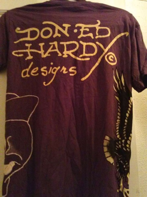 Ed Hardy T Shirt brown