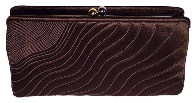 Item - Brown Satin Clutch