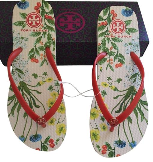 Tory Burch Redstone/multi Flats