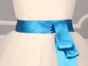 Marine Blue Ribbon Sash 2